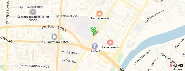 Наш клуб находится по адресу ул. Гусарова, д. 29.