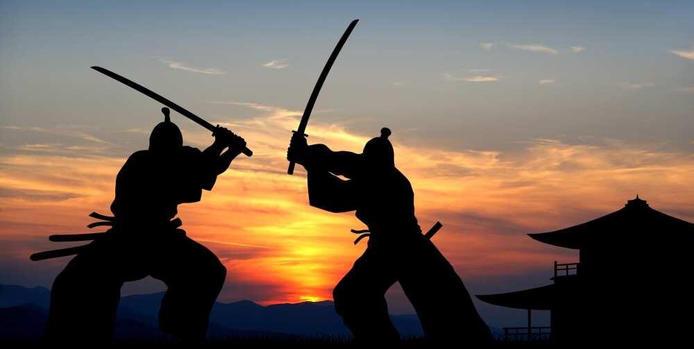 Восточные единоборства самураи